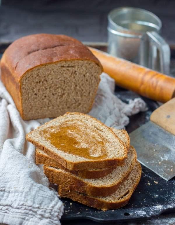 Honey Whole Wheat Bread Baker Bettie