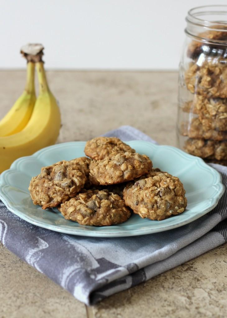 Banana Oatmeal Chocolate Chip Cookies on Bakerita's Top 10 Recipes of 2013!