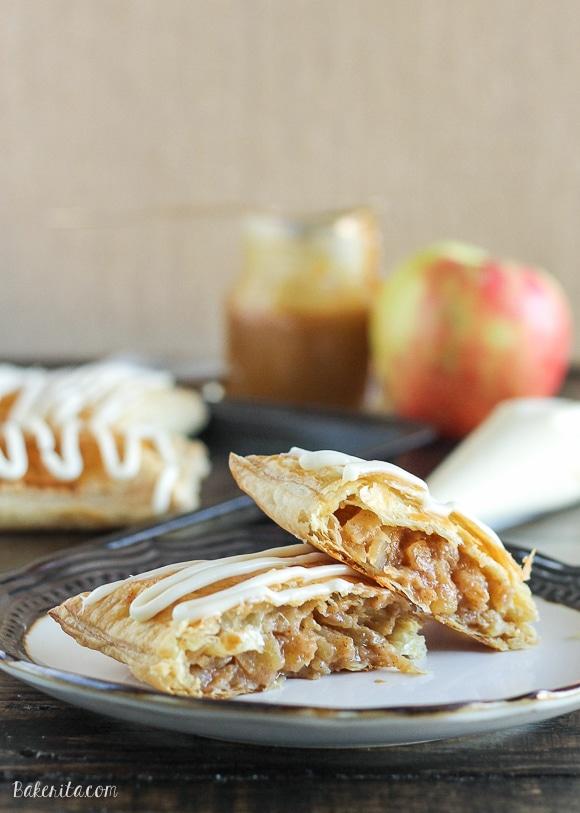 Caramel Apple Toaster Strudel Bakerita
