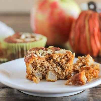 Pumpkin Apple Muffins (GF + Vegan)