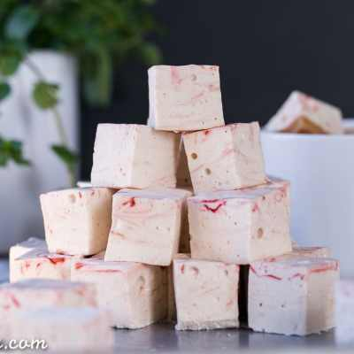 Paleo Peppermint Marshmallows