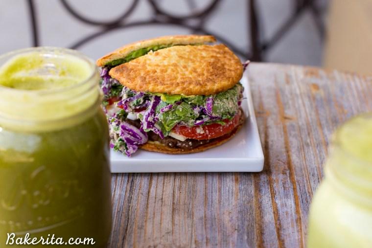 Burger from Green Table, Santa Barbara