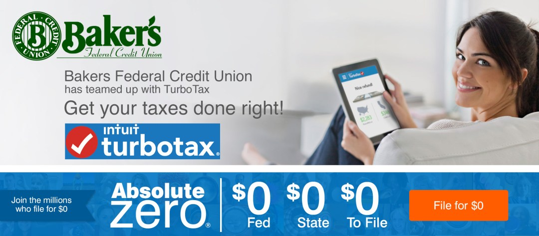Bakers FCU has teamed up with TurboTax
