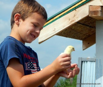 Children are great helpers on the farm, and benefit in so many ways from the experience.