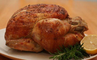 Spicy Chicken Rub: warming up a whole roasted chicken