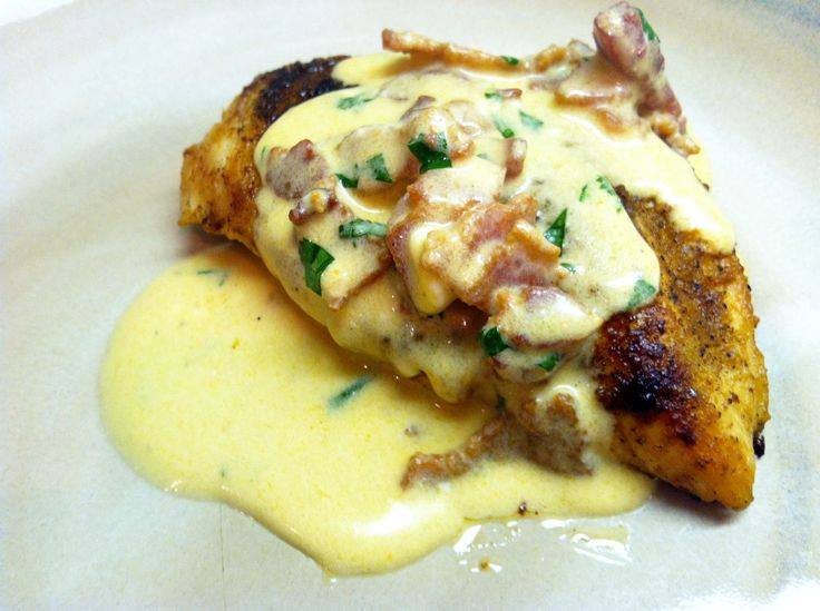 Mexican Chicken with Jalapeno Popper Sauce