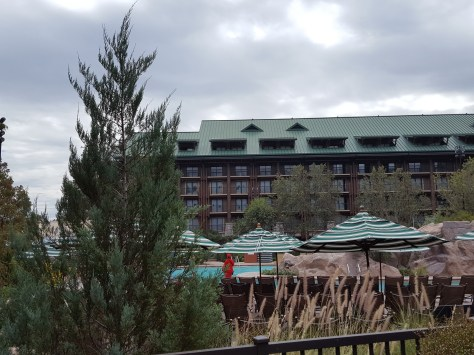 Wilderness Lodge Pool area