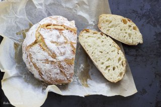 No knead bread o pane senza impasto