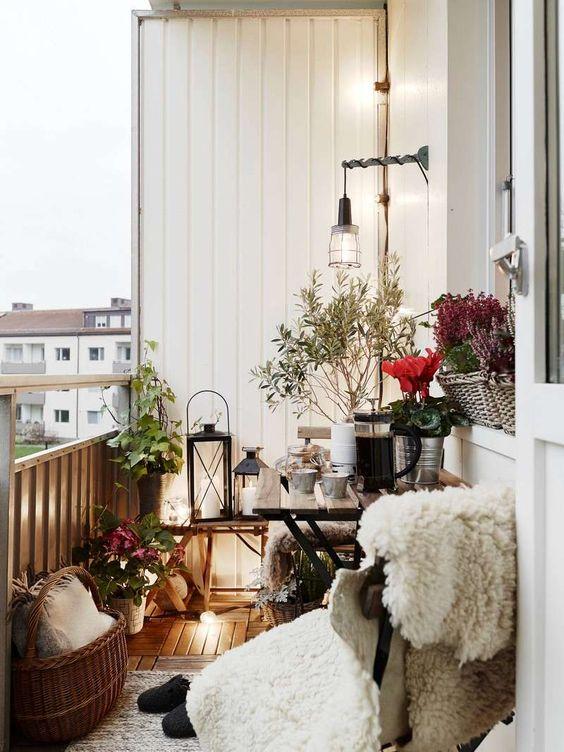 Idee per un balcone fiorito