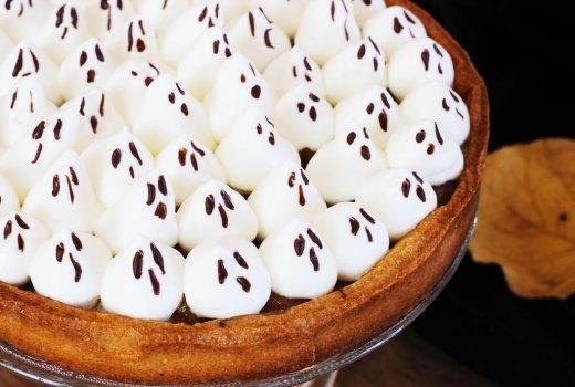 Crostata di mele per Halloween