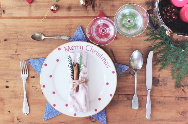 Come decorare la tavola di Natale