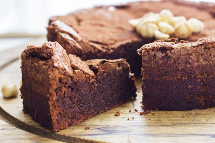 Torta al cioccolato e olio d'oliva