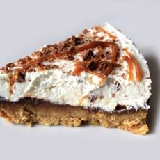 Nutella Salted Caramel Cheesecake Recipe