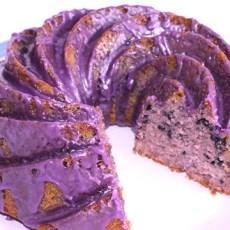 Gluten & Dairy Free Blueberry & Vanilla Bundt Cake