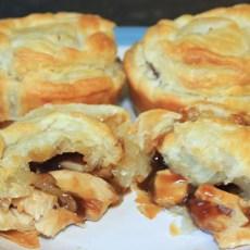 Super Easy Chicken Puff Pies