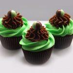 Mint Chocolate Aero Cupcakes