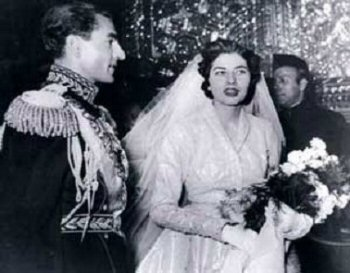 The wedding of the Shah and Soraya