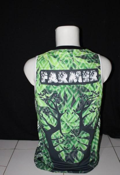 Sublimation printed UV drifit tank top by Baki Clothing Company
