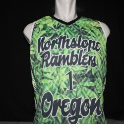 Sublimation printed UV drifit tank top by Baki Clothing Company