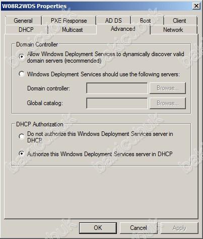 Windows Server 2008 R2 Windows Deployment Services Kurulumu