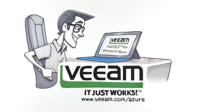 Microsoft Azure için Veeam FastSCP