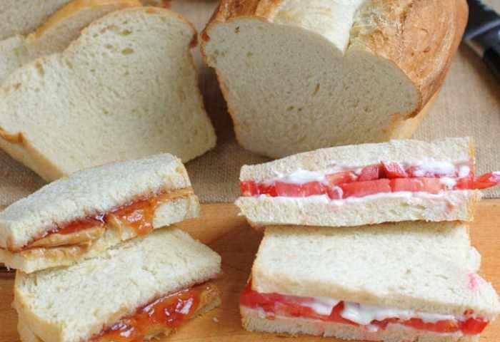 White Sandwich Bread Baking Sense