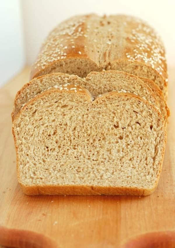 Milk Honey Whole Wheat Bread Baking Sense