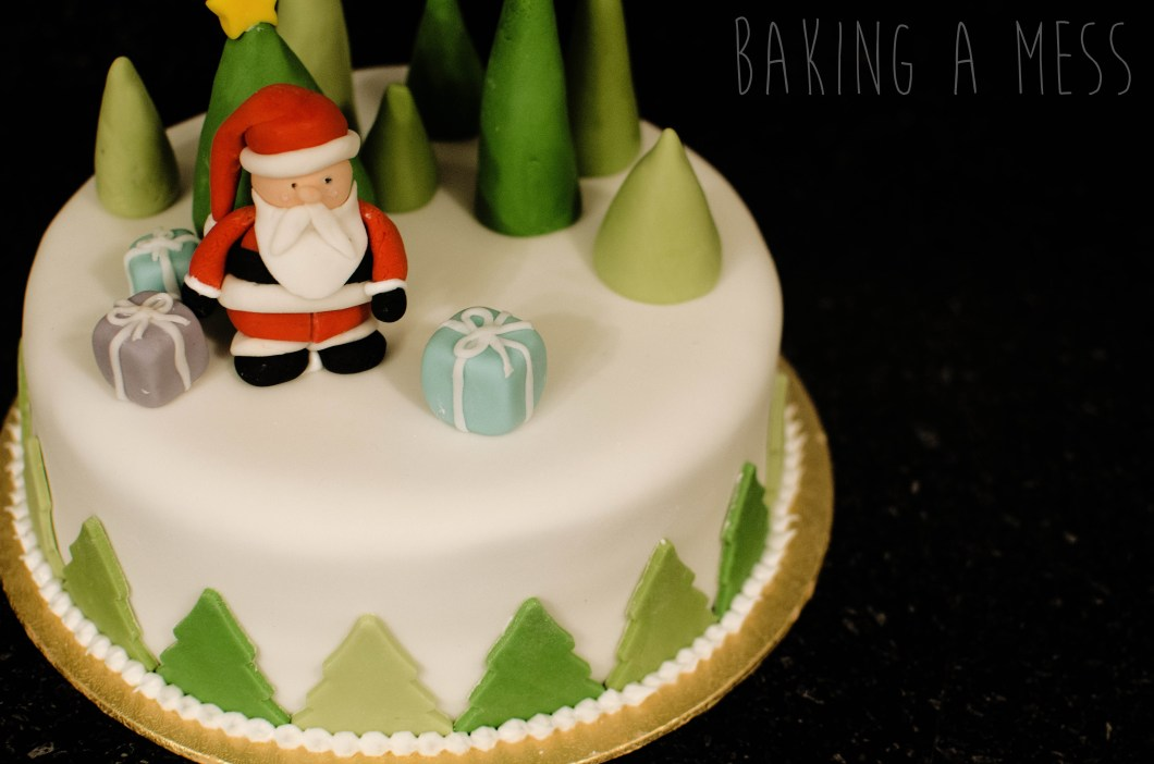 Decorate Christmas Cake Without Marzipan