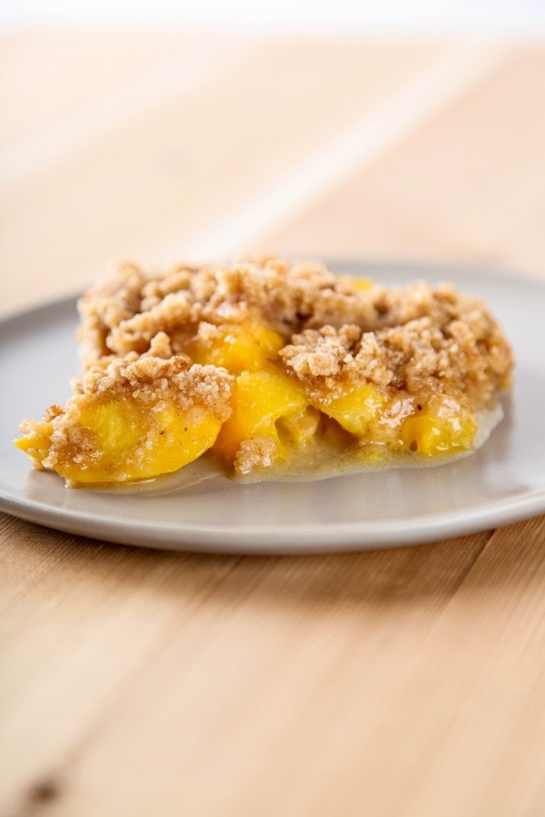 Apple Pie Crumble Topping
