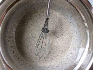 Buckwheat crepes - Batter Making