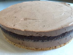 Royal chocolate cake Almost ready