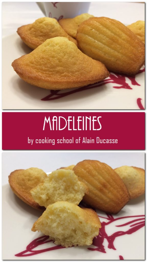 Madeleiens - Cooking School of Alain Deucasse: Pn4
