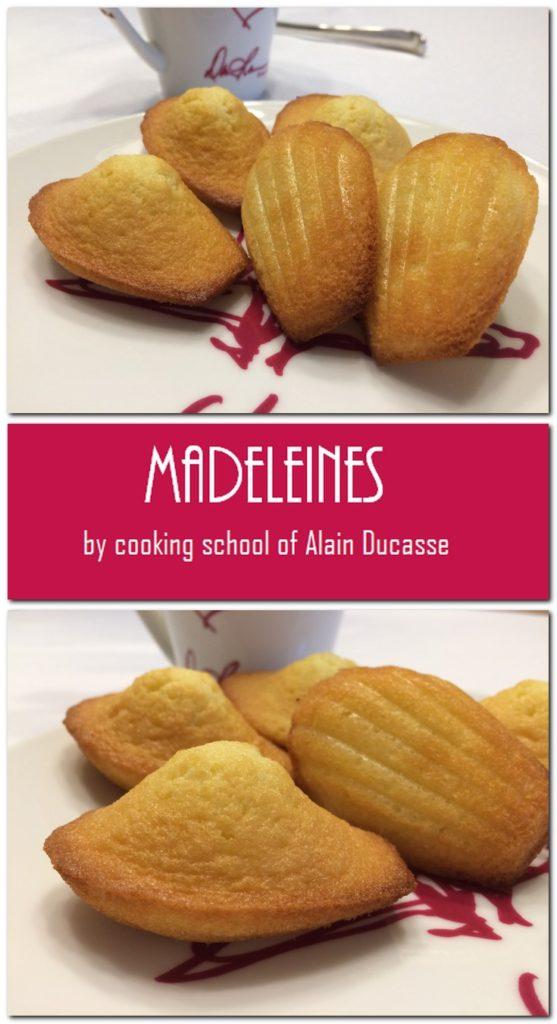 Madeleiens - Cooking School of Alain Deucasse: Pin 2