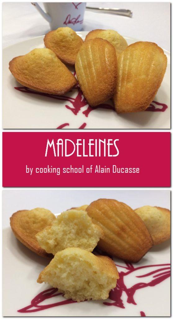 """Madeleiens - Cooking School of Alain Deucasse"""" Pin 1"""