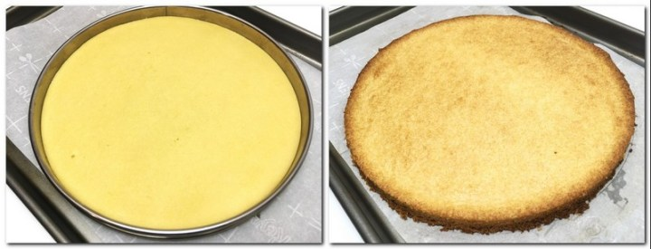 Photo 5: Sable Breton placed in a tart ring is ready for baking Photo 6: Baked sable Breton crust