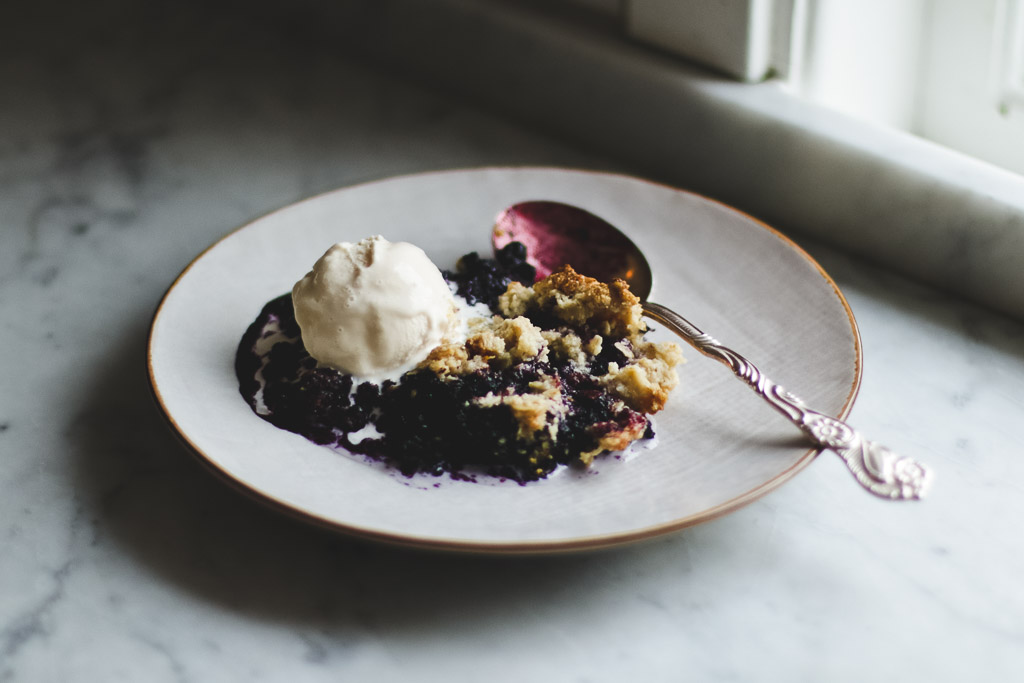 single serving blueberry crumble-1