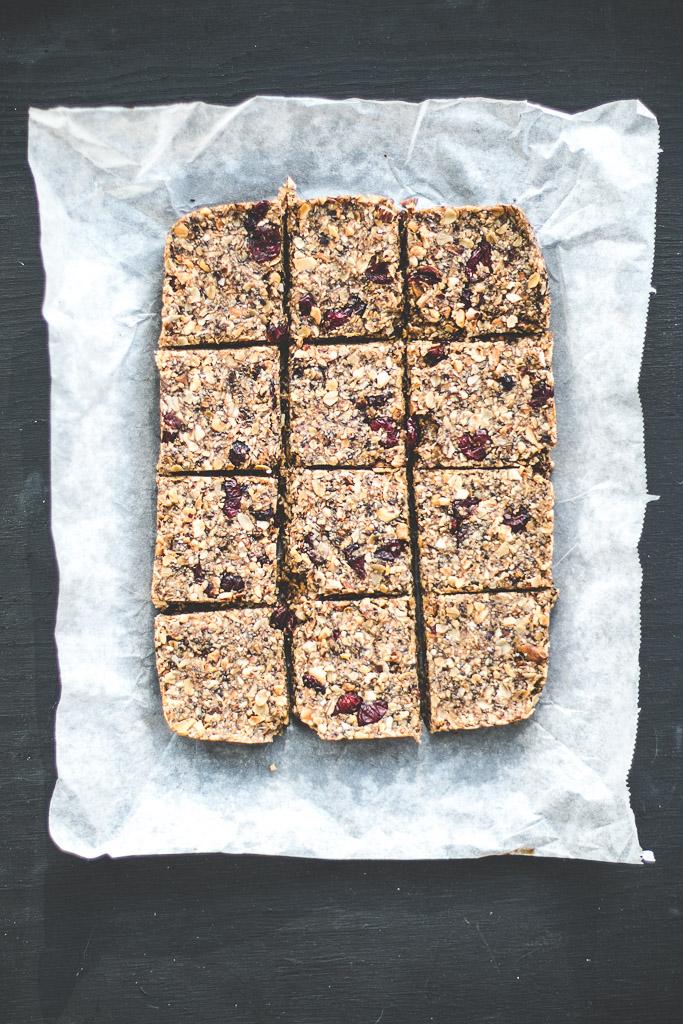 cranberry granola bars-10