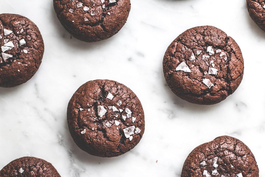 lavender chocolate buckwheat cookies-12