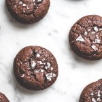Salted Lavender Chocolate Buckwheat Cookies