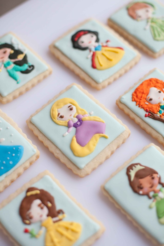 Disney Princess Sugar Cookies