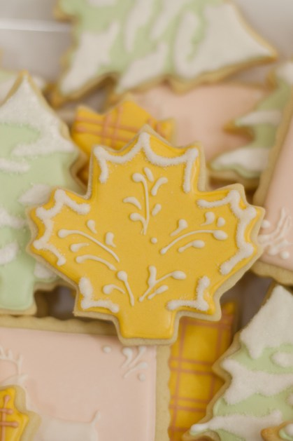 Woodland Sugar Cookies