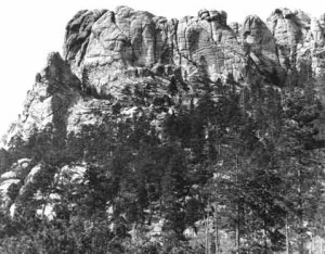The Six Grandfathers before it became Mount Rushmore