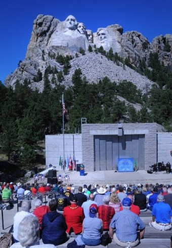 Mount Rushmore Visitor Center, Black Hills South Dakota