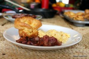 Ontbijt met popovers