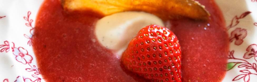 Aardbeiensoep