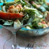 Zelf salade met avocado maken