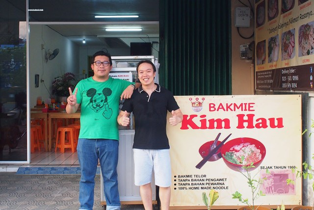 "Eric ""bakmi.club"" dan Koh Herman Kim Hau"