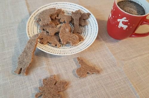Biscuits de Noël châtaigne-noisette