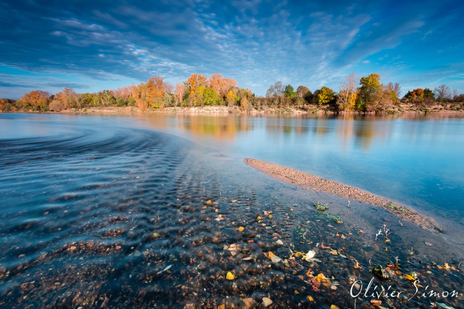 Loire en automne