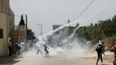صورة عشرات الإصابات جراء قمع الاحتلال مسيرة كفر قدوم الأسبوعية